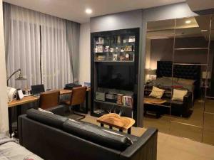 เช่าคอนโดสยาม จุฬา สามย่าน : Ashton Chula Silom ให้เช่า 1 ห้องนอน 32 ตร.ม. ชั้น 10 เฟอร์ครบพร้อมอยู่ใกล้ MRT สามย่านเดินทางสะดวก