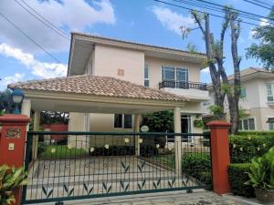 For RentHousePattanakan, Srinakarin : ให้เช่าบ้านเดี่ยวศุภลัย สวนหลวง (ติดถนนใหญ่) บ้านสวยมาก