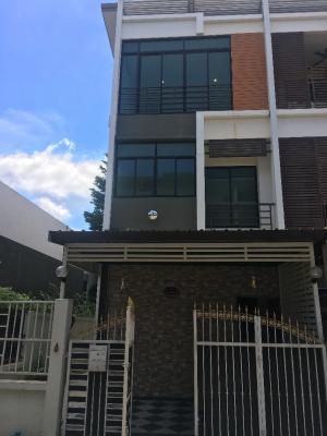 For RentTownhouseThaphra, Wutthakat : ให้เช่าบ้าน โครงการ six nature กัลปพฤกษ์ บ้านติดกับ club house ส่วนกลาง