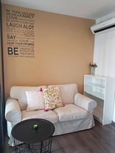 For RentCondoOnnut, Udomsuk : For rent  The Base Park West Sukhumvit 77 - Studio, size 26 sq.m. Beautiful room, fully furnished.