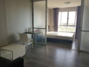 ขายคอนโดบางนา แบริ่ง : ขาย!! DCondo Campus Resort เอแบค บางนา ขนาด 30.05 ตรม. ตึก C ชั้น 6 พร้อมเฟอร์นิเจอร์+แอร์ ห้องใหม่มากกก!!