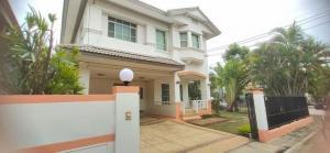 For RentHouseRangsit, Patumtani : HR833ให้เช่าบ้านเดี่ยว 2 ชั้น หลังมุม หมู่บ้านชัยพฤกษ์ รังสิตคลองสี่ เฟอร์ครบพร้อมอยู่