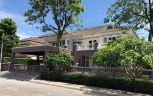 For RentHouseRamkhamhaeng,Min Buri, Romklao : RHT567ให้เช่าบ้านเดี่ยว2 ชั้น โครงการ มีทะเลสาบ เพอร์เฟคเพลส เลคไซด์ โฮม ใกล้โรงเรียนนานาชาติร่วมฤดี รามคำแหง 164