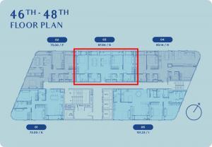 ขายดาวน์คอนโดอ่อนนุช อุดมสุข : Skyrise 64 ห้อง Penthouse 3-bed 87.84 ตร.ม. Foreigner Quota วิวบางกระเจ้า เพียง 11.9 ล้าน