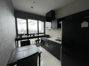For RentCondoOnnut, Udomsuk : 🔥Hot Deal🔥 Rhythm Sukhumvit44/1 1bed 35sqm. sky kitchen best price 16000THB Only contact Nutt 095-987-9669