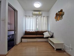 For RentCondoRama9, RCA, Petchaburi : For Rent: A-Space Asoke-Ratchada Condo, Studio 38 SQM, 1st Fl, Garden View