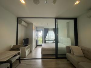 เช่าคอนโดบางนา แบริ่ง : ห้องสวยมาก ทำเลดีใกช้รถไฟฟ้า คอนโดไนท์บริดจ์ สุขุมวิท107 เพียง 7,000 บาท