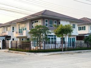 For SaleHouseRangsit, Patumtani : (เจ้าของขาย) บ้านเดี่ยว 2 ชั้น โครงการ ศุภาลัย การ์เด้นวิลล์ รังสิตคลอง 2 ใกล้ดรีมเวิลด์ เนื้อที่ 67.5 ตารางวา 4 ห้องนอน 3 ห้องน้ำ แปลงหัวมุม