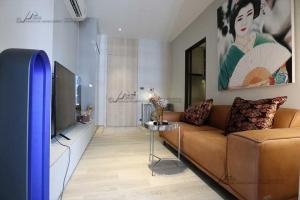 เช่าคอนโดสุขุมวิท อโศก ทองหล่อ : For rent 1bedroom luxury condo 35 sq.m. at The Fine Bangkok Ekkamai 12.