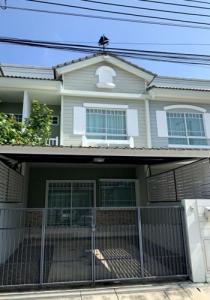 For RentTownhouseSamrong, Samut Prakan : SH_01095 house for sale Village Villaggio Bangna