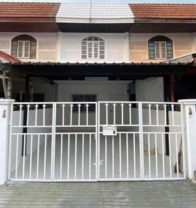 For SaleTownhouseBangbuathong, Sainoi : NH_01055 House for sale Bua Thong Village near MRT Khlong Bang Phai