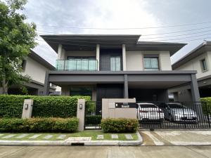 For SaleHouseRama5, Ratchapruek, Bangkruai : ขายบ้านหมู่บ้านบางกอกบูเลอวาร์ด สาทร-ปิ่นเกล้า2 ตกแต่งพร้อมอยู่ เลขที่บ้านสวยเสริมบารมี 89/89 fully furnished ฟรีแอร์ 4 ตัว 4 ห้องนอน 3 ห้องน้ำ 2 ที่จอดรถ ราคาพิเศษ 10ล้านบาท ตกแต่งด้วยวัสดุ Premium ทั้งหลังพื้นที่ 52.6 ตร.วา พื้นที่ใช้สอย 229 ตร.ม.