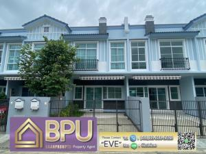 For RentTownhouseBangna, Lasalle, Bearing : ** 2 Bedrooms Townhome for Rent **  Indy 4 Bangna km.7 Near Mega Bangna