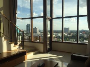 เช่าคอนโดสุขุมวิท อโศก ทองหล่อ : สำหรับเช่า The Emporio Place 1 ห้องนอน Duplex ขนาด 83 ตรม. เพียง 47,000/ เดือน