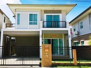 For RentTownhouseSamrong, Samut Prakan : 🔥ให้เช่าบ้านเดี่ยว โครงการภัสสร ไพรด์ (ศรีนครินทร์-หนามแดง)🔥