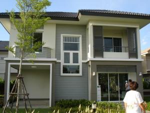 For SaleHouseBangbuathong, Sainoi : ขายด่วน บ้านเดี่ยวพฤกษาวิลเลจ ซีนเนอรี่ บางใหญ่ ถนนเมนกว้าง16เมตร ใกล้เวสเกตุ