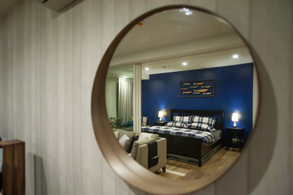 ขายคอนโดชะอำ เพชรบุรี : ขาย/ให้เช่า คอนโดบ้านแสนงาม หัวหิน (by แสนสิริ) ห้อง 1 bedroom pool access