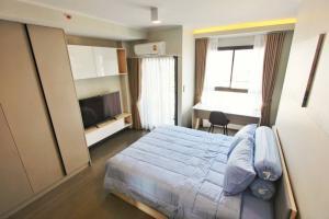 For RentCondoOnnut, Udomsuk : Ideo Sukhumvit 93 for rent Studio room 26 sq.m. fl.11 Fully furnished, Ready move in near BTS Bangchak