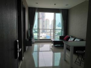 เช่าคอนโดพระราม 3 สาธุประดิษฐ์ : Menam Residences ให้เช่า 1 ห้องนอน 47 ตร.ม. ชั้น 14 เฟอร์ครบพร้อมอยู่ วิวแม่น้ำ เดินทางสะดวก
