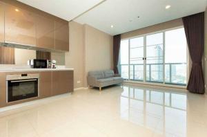 เช่าคอนโดพระราม 3 สาธุประดิษฐ์ : Menam Residences ให้เช่า 1 ห้องนอน 50 ตร.ม. ชั้น 15 เฟอร์ครบพร้อมอยู่ เดินทางสะดวก