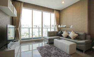เช่าคอนโดพระราม 3 สาธุประดิษฐ์ : Menam Residences ให้เช่า 1 ห้องนอน 55 ตร.ม. ชั้น 19 เฟอร์ครบพร้อมอยู่ วิวแม่น้ำ เดินทางสะดวก