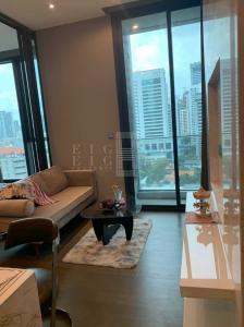 For RentCondoRama9, RCA, Petchaburi : For Rent The Esse at Singha Complex (35.42 sqm.)