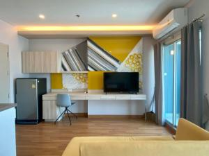 For RentCondoSapankwai,Jatujak : ⚡️Lumpini Park Vibhavadi - Chatuchak, fully furnished, good view, near BTS, special price, like to negotiate in front of the event. (T00025)