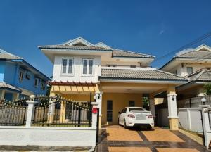 For RentHouseLadkrabang, Suwannaphum Airport : BH_01098 House for rent Phanason Garden Home 7