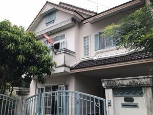 For RentHouseRamkhamhaeng,Min Buri, Romklao : BH_01095 Detached house for rent Tararom Parkway Chalet Ramkhamhaeng 190/1