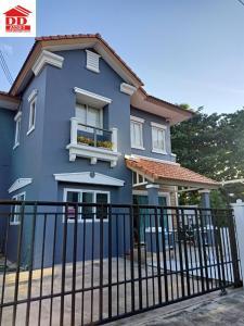 For SaleHouseRama 2, Bang Khun Thian : For Sale ขายบ้านเดี่ยว พรอเมนาด โฮม พระราม2 ธนบุรี (Promenade Home Thonburi)  บ้านเดี่ยวธารารมณ์ พระราม2 หลังมุม