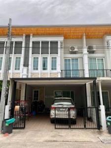 For RentTownhouseKaset Nawamin,Ladplakao : HR841ให้เช่าทาวน์โฮม 2 ชั้น หมู่บ้านโกลเด้น ทาวน์ ลาดพร้าว เกษตรนวมินทร์ เฟอร์ครบพร้อมอยู่