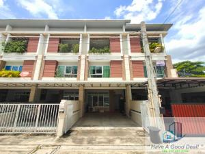 For SaleTownhouseLadprao101, The Mall Bang Kapi : ทาวน์เฮ้าส์ 3 ชั้น 25.8 ตร.วา ม.Private town บางกะปิ