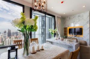 For RentCondoSukhumvit, Asoke, Thonglor : 🔥Rent - 2Bed High Floor at Edge Sukhumvit 23
