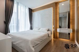 For RentCondoSukhumvit, Asoke, Thonglor : For rent Noble Recole Sukhumvit 19 - 1Bed , size 34 sq.m., Beautiful room, fully furnished.