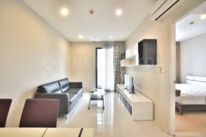 เช่าคอนโดพระราม 9 เพชรบุรีตัดใหม่ : Hot Deal!! ชั้นสูง วิวสวย ห้องแต่งครบ เดินทางง่าย คอนโดติด MRT เพชรบุรี Villa Asoke @17,000 บาท/เดือน