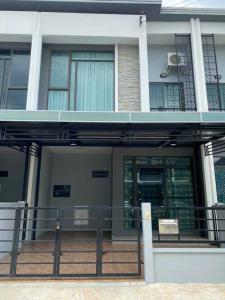 For SaleTownhouseRathburana, Suksawat : ขายทาวน์โฮม 2 ชั้น หมู่บ้าน Pleno สุขสวัสดิ์  ประชาอุทิศ 60