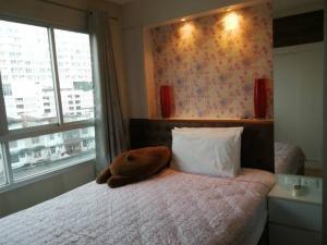For SaleCondoRamkhamhaeng Nida, Seri Thai : ขายถูกมาก!! ห้องมุม วิวสระ ลุมพินี วิลล์ รามคำแหง 60/2 ตึก B ชั้น 6 ห้องสวยสภาพดี พร้อมอยู่
