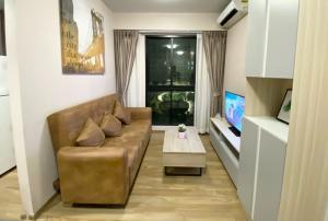 For RentCondoBangna, Lasalle, Bearing : ให้เช่าUnioS72(BTSแบริ่ง)2ห้องนอน41ตรม.ตึกBชั้น3วิวสวนสวย(RT-01)