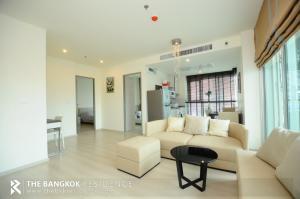 For RentCondoRatchadapisek, Huaikwang, Suttisan : 2B2B Best Price! Condo for Rent Near MRT Huai Khwang - Life Ratchadapisek @22,000 Baht/Month