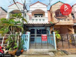 For SaleTownhouseRathburana, Suksawat : ขายทาวน์เฮ้าส์ หมู่บ้านทัศนีย์นิเวศน์ ประชาอุทิศ กรุงเทพมหานคร