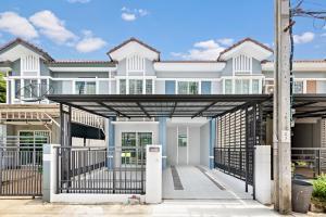 For SaleTownhouseRama5, Ratchapruek, Bangkruai : บ้านมือสองตกแต่งใหม่ พฤกษาวิลล์ 33 ปิ่นเกล้า-วงแหวน 2  สวย พร้อมอยู่