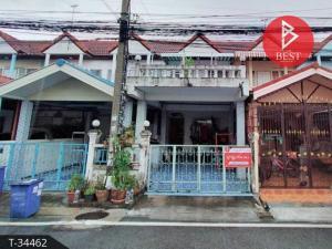 For SaleTownhouseSamrong, Samut Prakan : ขายทาวน์เฮ้าส์ หมู่บ้านทรัพย์ดินทอง เทพารักษ์ สมุทรปราการ พร้อมอยู่