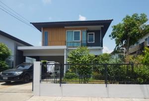 For SaleHouseSamrong, Samut Prakan : S00189 ขาย บ้านเดี่ยว หมู่บ้าน พฤกษ์ลดา ประชาอุทิศ 90  ใกล้ สุขสวัสดิ์ ถนน พุทธบูชา บ้านเดี่ยว ประชาอุทิศ 90