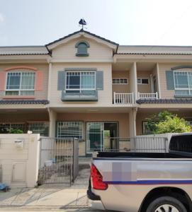 For SaleTownhouseSamrong, Samut Prakan : S00180 Townhouse for sale Villaggio Bangna Village