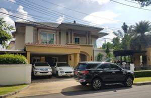 For SaleHouseBangbuathong, Sainoi : N00113 ขาย บ้านเดี่ยว หมู่บ้าน เศรษฐสิริ ประชาชื่น เรสสิเด้น 5 บ้านเดี่ยว เศรษฐสิริ ประชาชื่น , บ้านเดี่ยวใกล้ มหาวิทยาลัยธุรกิจบันฑิต