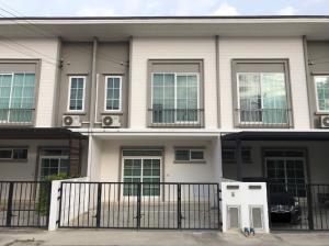 For SaleTownhouseRathburana, Suksawat : ขายบ้านทาวน์เฮ้าส์ 2 ชั้น โครงการคิวดิสทริค สุขสวัสดิ์-วงแหวนพระราม3 พระประแดง สมุทรปราการ