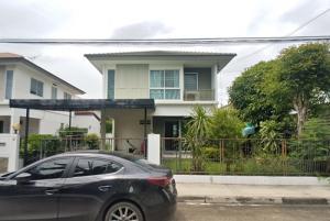 For SaleHouseChengwatana, Muangthong : N00103 Detached house for sale Pruklada Bangyai village