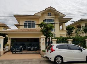 For SaleHouseBangbuathong, Sainoi : N00090 ขาย บ้านเดี่ยว หมู่บ้าน ภัสสร 7 รัตนาธิเบศร์, บ้านเดี่ยวย่าน บางบัวทอง ใกล้ สถานีรถไฟฟ้า MRT บางพลู
