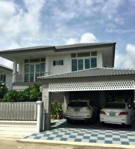 For SaleHouseBangbuathong, Sainoi : N00061 ขาย บ้านเดี่ยว หมู่บ้าน คุณาภัทร 5 บ้านกล้วย-ไทรน้อย บ้านเดี่ยวใกล้ เซ็นทรัลเวสต์เกส บ้านเดี่ยวถนน บ้านกล้วย-ไทรน้อย