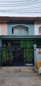 For SaleHouseKaset Nawamin,Ladplakao : บ้านสวยร่มรื่นอยู่ฝุดๆราคาโคตรดี ใครอยากมีบ้านทัก 2.3X เท่านั้น ซ.ลาดปลาเค้า39 ถ.เกษตรนวมินทร์ ทาวน์เฮาส์ 2 ชั้น 17 ตร.ว. หมู่บ้านสหมิตรวิลล่า